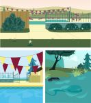 Children's Story Background 3 4 and 5 by DoodleBuggy