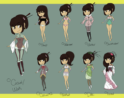 RC: Aina's Wardrobe by jangloo
