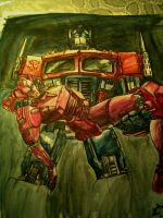 Optimus Prime by x-ultramagnus-x