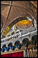 Jerusalem - Church of the Holy Sepulcher (HDR) by echomrg