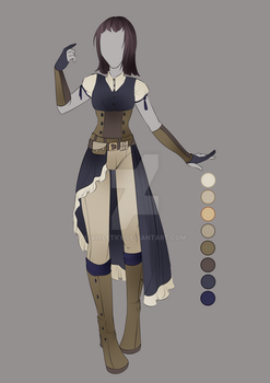 :: July Commission 03: Outfit Design :: by VioletKy