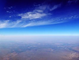 View from a Plane Window by NAD-LifeOfficial
