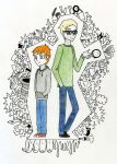 pasty white boys by randomkitty2