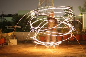 Light painting-Diwali by leostarkoneru