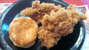 Extra Crispy Boneless Chicken and Biscuit by BigMac1212