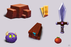 various objects by HLsimpo