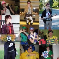 Cosplay Collage by twilitprincess