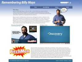 Remembering Billy Mays Site by dhrandy