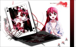 Elfen Lied Wallpaper by shandie-production