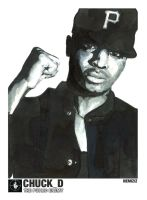 Chuck D The Public Enemy by nemiziz