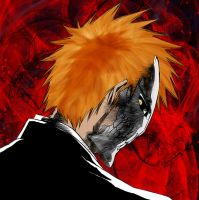 ichigos mask with 9 stripes by neronin