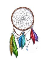 Dream Catcher Color by packness