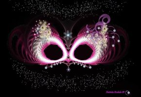 Masquerade Mask by PatriciaRodelaArtist