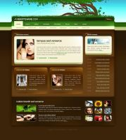 Template 6 for 4T by: node33 by WebMagic