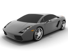 Lamborghini Gallardo Gray by HolgerL