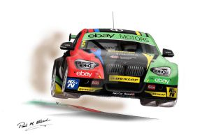 Colin Turkington 2014 by Rallyist1