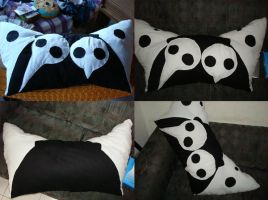 Gift - Sachiel Pillow by Simbelmyne-Toreador