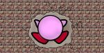 Kirby hits a brick wall by kingofthedededes73