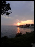 Sunset Over Cassis by LotusGrisDesign