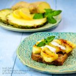 grilled pineapple toast by Pokakulka