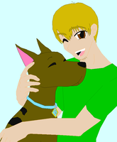 Scooby and Shaggy by Weezy-The-Pup
