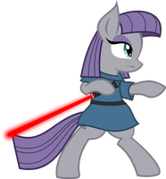 MLP Maud Pie(Jedi) by Ispincharles