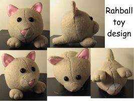 The making of toy Rahball 3 by Rahball