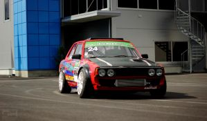 The Drift Garage Corolla KE70 by Styrox-Art