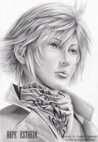 Hope - Final Fantasy XIII by Shikobi