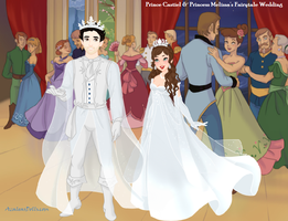 Prince Castiel And Princess Mel's Fairytale Wed by misstudorwoman