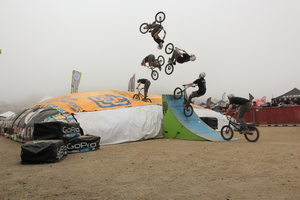 Backflip at Sea Otter Classic 2012 by Camel51