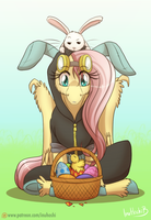 Happy Easter - 2016 by InuHoshi-to-DarkPen