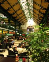 Inside of Market Hall II by SaitoV