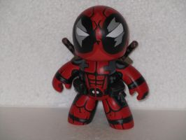 Deadpool mighty muggs by laz69frog