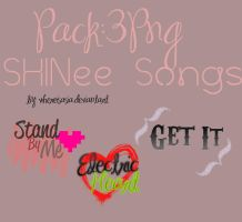 SHINee Songs Png by WhereIsAsia