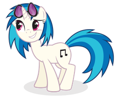Vinyl Scratch by juniberries
