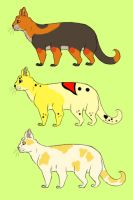 Spidercat Adoptables 2 +OPEN+ by SafiSafi-SushiSushi