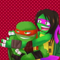 Commish - Raphael and Esme by Sonicbandicoot