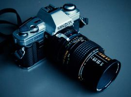 X-300 + MD Macro Rokkor by TLO-Photography
