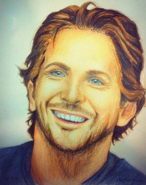 Bradley Cooper by EllieBellie135