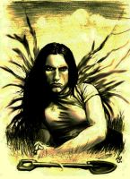 Peter Steele 7 - resurrection by QiBossa