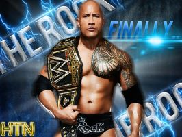 WWE The Rock: The Most Electrifying Champion HQ by HTN4ever