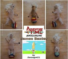 Amigurumi James Baxter from Adventure Time by durango421