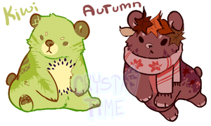 Bear Adopts (Closed) by crystal-time
