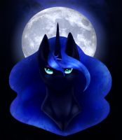 Queen of the Night Print by Sagethechibi