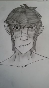 Some Murdoc Traditional~ by Stalene100