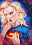 SuperGirl by MoishPain