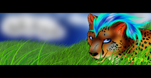 Hiding in the Grass by TangledTabby876