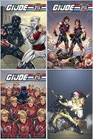 GI Joe covers 25th Anniversary by kieranoats
