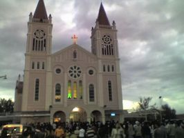 Baguio Catholic Cathedral by force2reckon